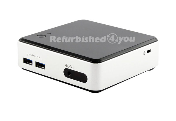 Mini PC Intel NUC D54250WYK i5-4250U 2x 1,3Ghz 8GB 120GB SSD mSATA Win10Pro (1.Wahl)