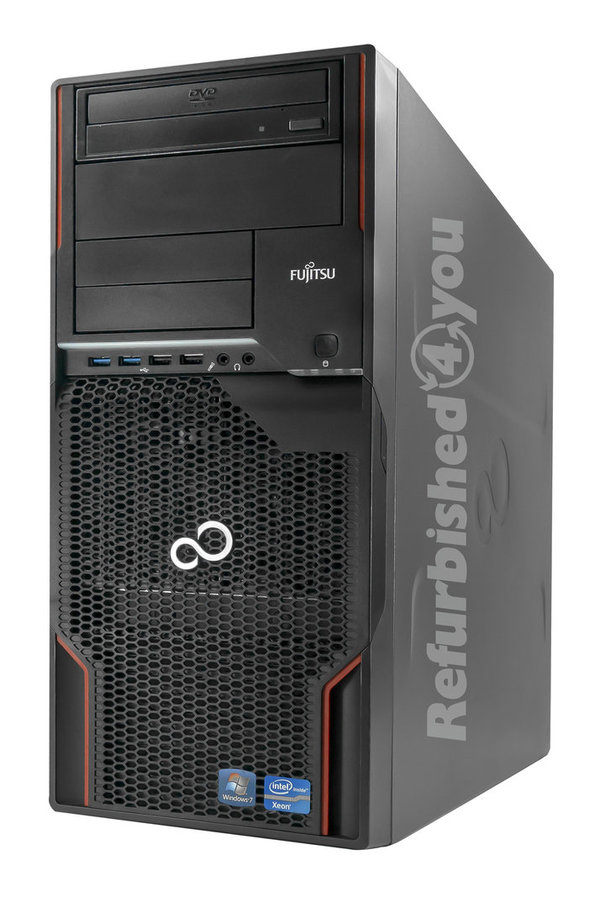PC/Workstation FSC Celsius M720 Xeon E5-1620 3,6Ghz 16GB 240GB SSD Quadro 4000 Win10Pro (1.Wahl)